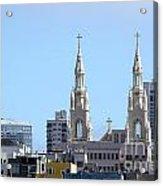 Church Top San Francisco Acrylic Print