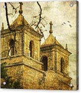 Church Towers Acrylic Print