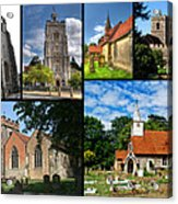 Churches Of Hillingdon Acrylic Print