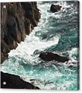 Churning Ocean Acrylic Print