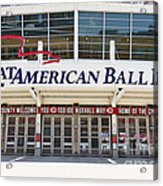 Cincinnati Great American Ball Park Entrance Sign Acrylic Print