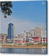 Cincinnati Panorama Acrylic Print