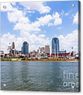 Cincinnati Skyline And Downtown City Buildings Acrylic Print