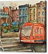 Cincinnati Streetcar Acrylic Print