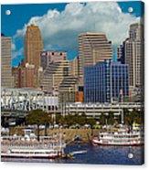 Cincinnati Tall Stacks  Acrylic Print