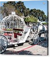 Cinderella Carriage Acrylic Print