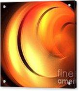 Cinnamon Bun Acrylic Print