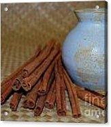 Cinnamon Jar Acrylic Print