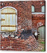 Circa 1901 Lowe Mill Art Studios Architecture Details Acrylic Print
