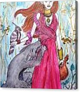 Circe The Sorceress Acrylic Print