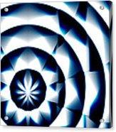 Circle Flower - Macro 1 Acrylic Print
