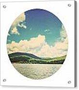 Circle Lake Acrylic Print