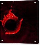 Circle Of Blood Acrylic Print
