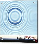 Circular Waves Acrylic Print