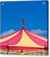 Circus Tent Top  Acrylic Print