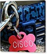 Cisco's Gear Acrylic Print
