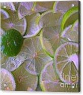 Citrons Verts - Green Lemon - Ile De La Reunion Acrylic Print