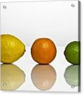 Citrus Fruits Acrylic Print