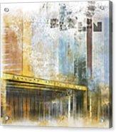 City-art Berlin Potsdamer Platz Acrylic Print by Melanie Viola