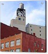 City Buildings On Bowery Acrylic Print