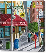 City Corner Acrylic Print