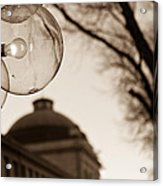 City Globes Acrylic Print