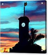 City Hall In Deerfield Beach Florida Acrylic Print