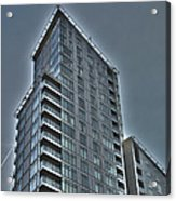 City Living 3 Acrylic Print by David Warren