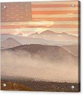 City Of Boulder Colorado Usa Wildfire Season Acrylic Print