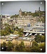 City Of Edinburgh Acrylic Print