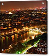 City Of Light Acrylic Print by Elena Elisseeva