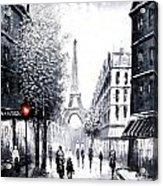 City Of Love Acrylic Print