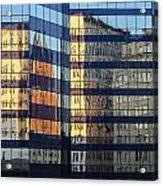 City Reflections 2 Acrylic Print