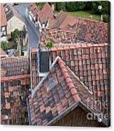 City Roofs Acrylic Print