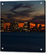 City Skies Acrylic Print by Michael Murphy