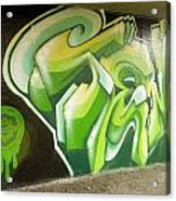 City Sponsored And Approved Graffiti Acrylic Print