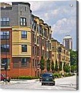 City Street Intersection Acrylic Print