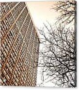 City Vs Nature Acrylic Print