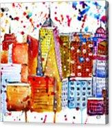 Cityscape 1 Acrylic Print