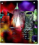 Cityscape 3 Acrylic Print