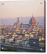 Cityscape, Florence, Italy Acrylic Print