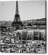 Cityscape Of Paris Acrylic Print by Sbk_20d Pictures