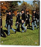 Civil Soldiers March Acrylic Print