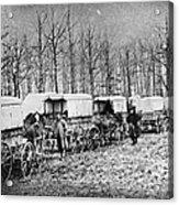 Civil War: Ambulances, C1864 Acrylic Print
