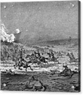 Civil War: Cavalry Charge Acrylic Print