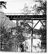 Civil War: Foot Bridge Acrylic Print