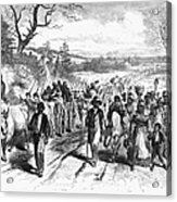 Civil War: Freedmen, 1863 Acrylic Print by Granger
