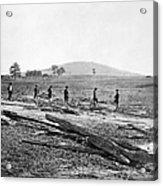Civil War: Graves, 1862 Acrylic Print