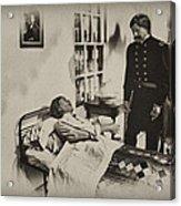 Civil War Hospital Acrylic Print