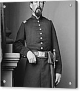 Civil War Major, C1865 Acrylic Print